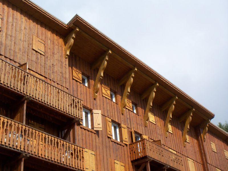 façade du chalet