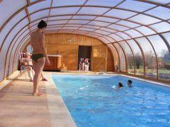piscine chauffée et couverte
