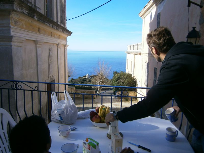 bleu petit déjeuner