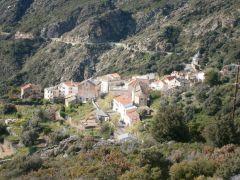 Vue du village de Minervio