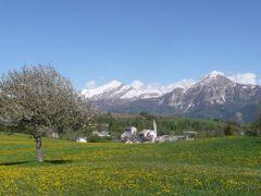 vue du village EST au printemps