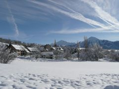 vue du village EST en hiver
