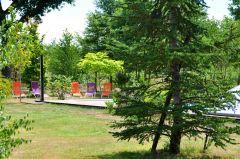 Espace détente dans le Parc