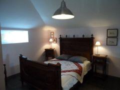 Chambre (lit en 140cm) avec salle d'eau