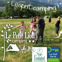 Camping le petit liou : l'esprit camping dans la nature.