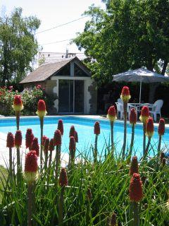 La piscine en juin