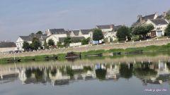 Le village, vu e la Loire