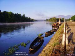 La Loire, à 100 mètres du gîte