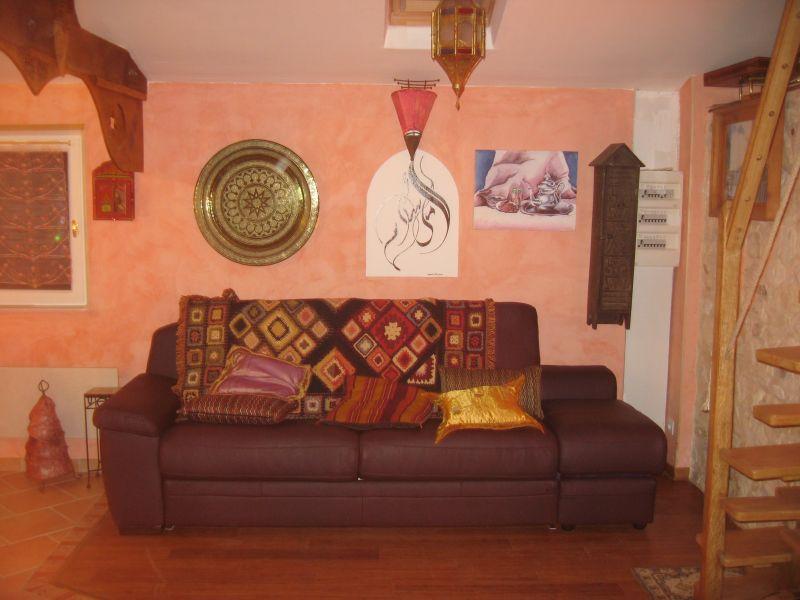 salon canapé cuir lit 160
