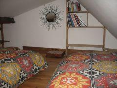 mezzanine pour enfants 2 lits simples 90