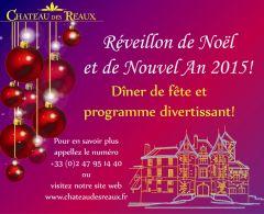 Noël ( 24.12.14) et Nouvel An 2015