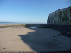 la falaise de Mers