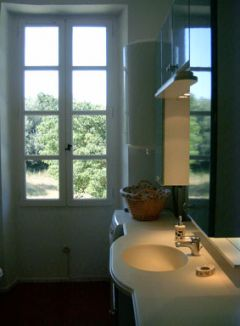 Salle de bain du Gite le Fermier
