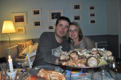 Plateaux de fruits de mer à 2 ou en famille : tourteaux, huîtres, crevettes de toutes sortes, bulots, vignots, amandes