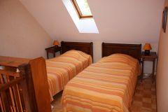chambre avec lits en mezzanine