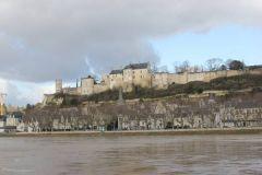 le  chateau médiéval de Chinon
