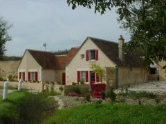 Gîte semi-troglodyte en Touraine du Sud
