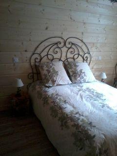 chambre automne étage vue bois