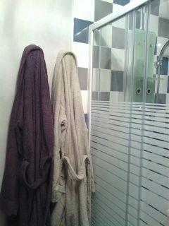 peignoirs et douche