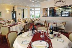 Salle de restaurant, hôtel la Boule d'or
