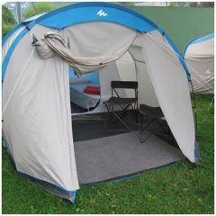Tente prête à camper