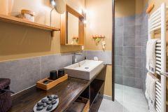 Salle de bains Soie et Galets