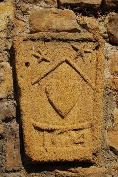 Blason du 17ème siècle sur la façade