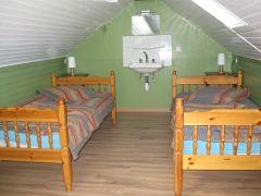chambre de 2 lits à 1 pers.