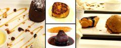 nos desserts ('fait maison )