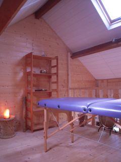 Salle de relaxation - massages