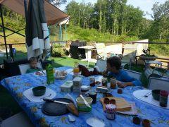 déjeuner sur la table