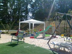 aire de jeux sable pour enfants
