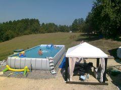 piscine hors sol 10x5m