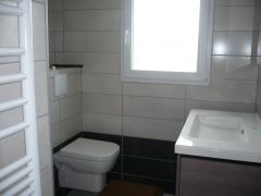 La salle de bain bien claire