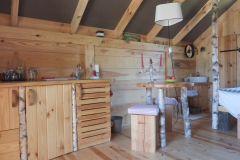La Cabane de Mathilde et son espace repas