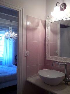 Salle de bain de la chambre Galante