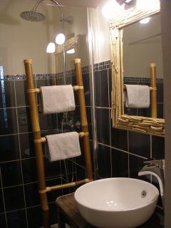 Salle de bain de la chambre Macondo