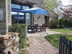 Terrasse Maison Bleue