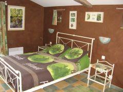 Une chambre  de la Maison Verte