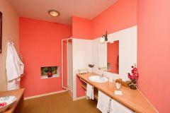 Salle de bain de la chambre Lavande