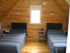 Chambre étage '2 lits en 90)