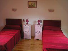 chambre étage (2lits en 90)