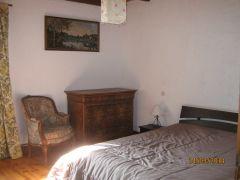 chambre sud avec lit 160