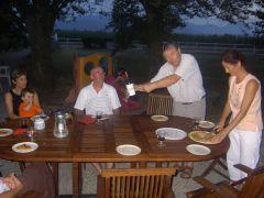 table d'hôtes l'été