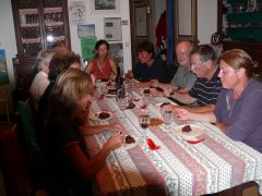 table d'hôtes l'hiver