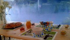 Service du petit-déjeuner
