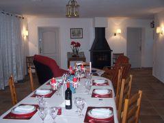 Salle à manger, salon, Table de fête