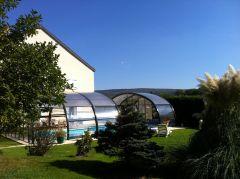 Gîte 4cles avec piscine couverte bordure de voie verte