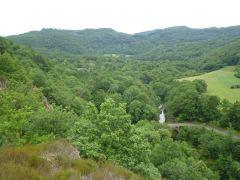 vue de notre vallée