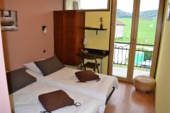 Chambre double twin Hôtel